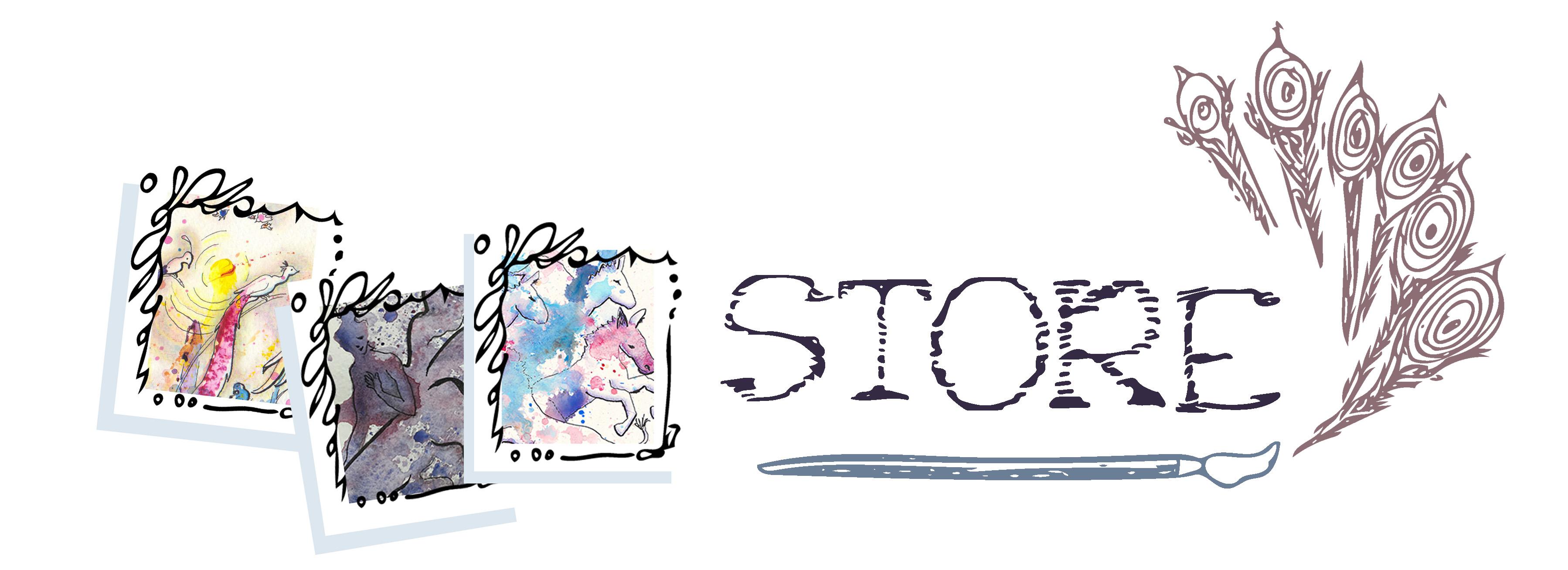 Web Store Illu